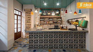 طراحی داخلی خلاقانه رستوران کلمبیایی