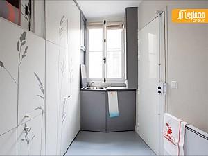 بازسازی و طراحی داخلی خلاقانه این اتاق 8 متری!