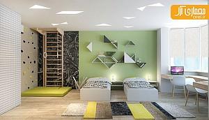 بررسی دو آپارتمان طراحی شده برای خانواده