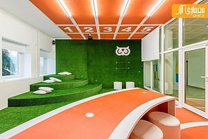 طراحی داخلی اتاق استراحت در دانشگاه تربیت بدنی Charles