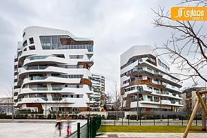 معماری مجتمع های مسکونی زاها حدید در میلان