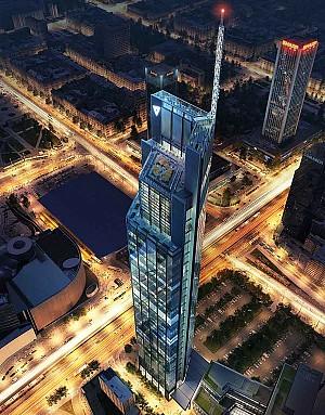 بلندترین برج لهستان، طراحی نورمن فاستر و همکاران
