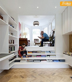 20 ایده خلاقانه برای استفاده بهینه از زیر پله!