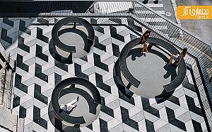 هندسه هنری مدرن درون میدان تاریخی garciagerman اسپانیا
