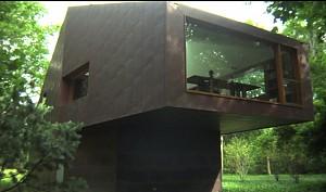 طراحی کتابخانه شخصی در جنگل!