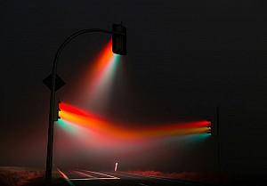 یک شنبه های عکاسی: تصاویر سورئال از چراغ راهنمایی رانندگی