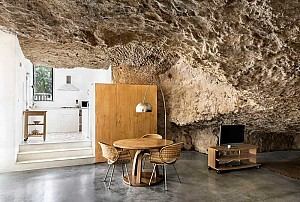شگفتی خانه ای در دلِ غار!