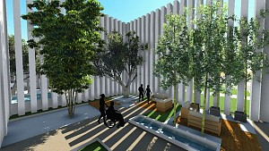 معماری آسایشگاه برای بیماران سرطانی!