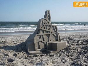 تلفیق هنر شن بازی با معماری!