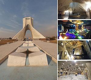 طراحی و معماری  برج آزادی (شهیاد) تهران