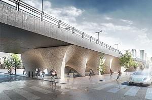 طرح پیشنهادی موزه، زیر پل میرداماد/ مهدی کامبوزیا