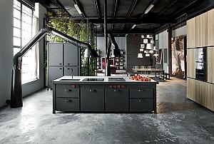 طراحی داخلی 32 نمونه آشپزخانه به سبک صنعتی