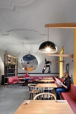 طراحی داخلی شگفت انگیز رستوران شیکاگویی!