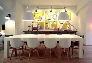 تلاقی دو سبک مدرن و صنعتی در دکوراسیون داخلی خانه