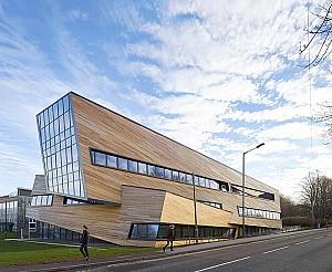 طراحی دانشگاه اَختر شناسی دورهام توسط دنیل لیبسکیند