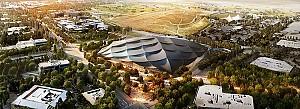 طراحی ساختمان جدید گوگل در کالیفرنیا