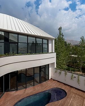 معماری و طراحی داخلی ویلای برادر کوچک تر علیرضا تغابنی