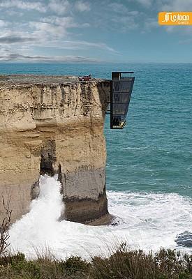 طراحی خانه معلق بر روی اقیانوس!