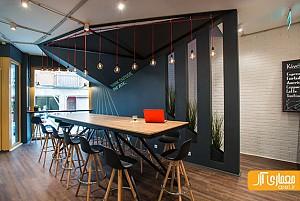 طراحی داخلی کافی شاپ در مجارستان و عملکرد آن