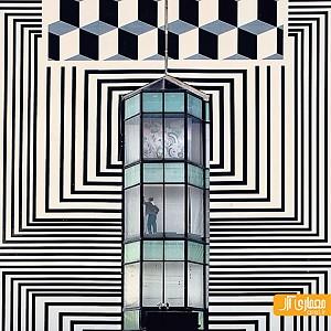 یک شنبه های عکاسی: نمایش مینیمال از  ترکیب معماری و زندگی شهری