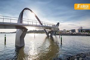 ساختار منحصر به فرد پل عابر پیاده در استرالیا
