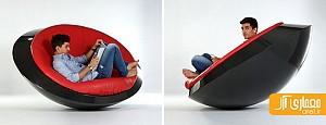 طراحی جالب صندلی گهواره ای