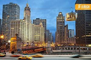 ماشین های هوایی در شهر شیکاگو!