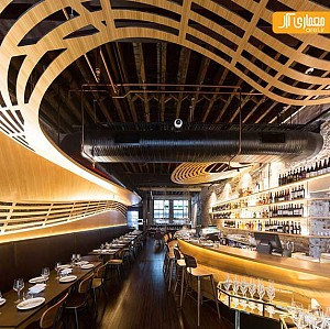 طراحی داخلی رستوران و کافی شاپ با المان های کِرو