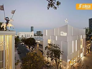 طراحی نمای ساختمان تجاری Dior