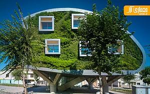 معماری پایدار در طراحی ساختمان اداری
