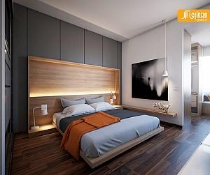 دیوارهای خاص در طراحی داخلی اتاق خواب، بررسی 6 طرح
