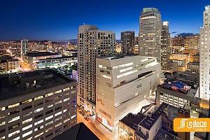 معماری و طراحی داخلی موزه هنر های معاصردر سان فرانسیسکو
