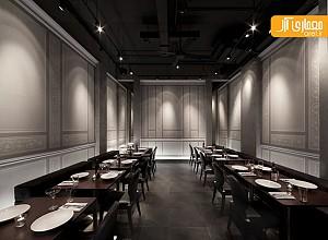 طراحی و دکوراسیون داخلی رستوران به سبک مینیمال