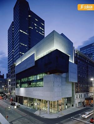 موزه هنرهای معاصر روزنتال اثر زاها حدید