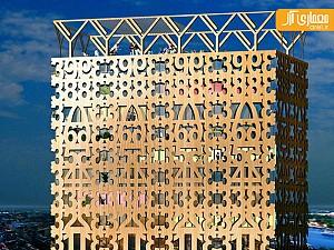 طراحی آسمان خراش چوبی در سوئد