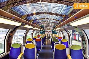 طراحی داخلی بی نظیر قطار عمومی در فرانسه