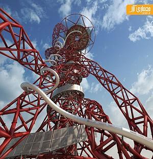 طراحی بلند ترین سرسره ی دنیا در لندن