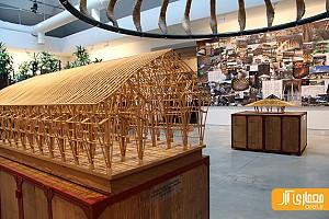 دوسالانه ونیز: معماری با استفاده از چوب بامبو