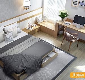 بررسی 7 نمونه طراحی داخلی اتاق خواب