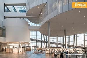 معماری و طراحی داخلی دانشگاه بلژیک