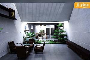 طراحی مرز بین فضای داخلی و خارجی منزل
