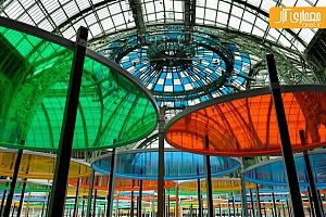ایجاد گالری رنگی موقت در کاخ پاریس