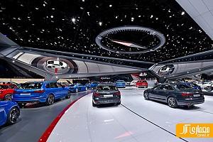 طراحی نمایشگاه اتومبیل آئودی