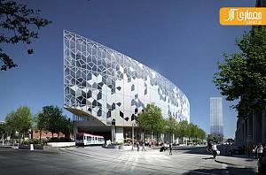 معماری کتابخانه مرکزی و طراحی داخلی آن