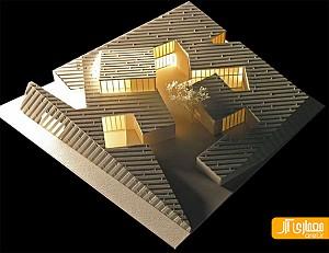 معماری اکولوژیکی در طراحی ویلایی در مغولستان چین