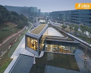 نگاهی به ساختمان خلاق ققنوس