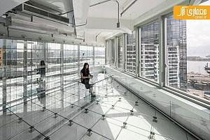 طراحی مجتمع اداری شیشه ای، توسط گروه معماری MVRDV