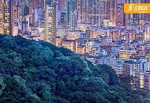 یک شنبه های عکاسی: هنگ کنگ در آخرین دقایق غروب آفتاب
