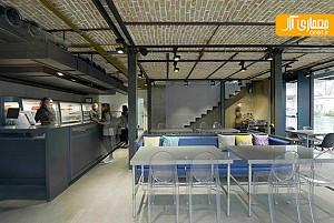 طراحی داخلی رستوران ریواس توسط مهسا مجیدی