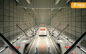 طراحی مترو بینظیر بیلبائو توسط نورمن فاستر